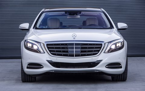 The 2016 Mercedes-Maybach S600