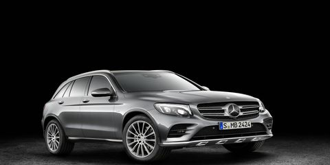 The new Mercedes-Benz GLC compact SUV replaces the GLK in its lineup.