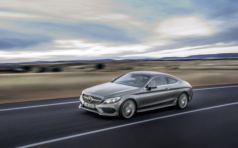 2017 Mercedes-Benz C300 coupe debuts before Frankfurt auto show