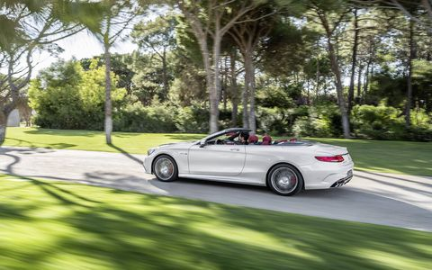 We drive the 2017 Mercedes-AMG S63 Cabriolet, the German automaker's newest convertible luxury flagship.