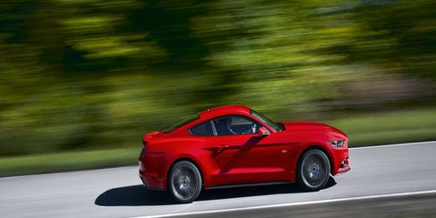 Mustang GT continues with the latest edition of the 5.0-liter V8, now featuring an upgraded valvetrain and cylinder heads that yield 435 horsepower and 400 lb.-ft. of torque.