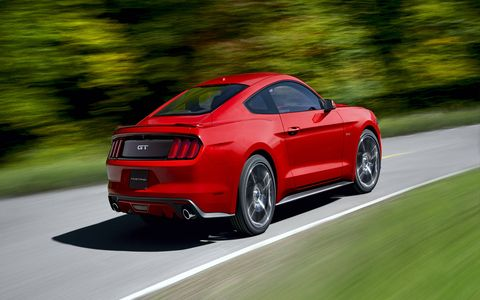 The all-new Mustang features a significant amount of innovative technologies providing drivers with enhanced information, control and connectivity when they want it.