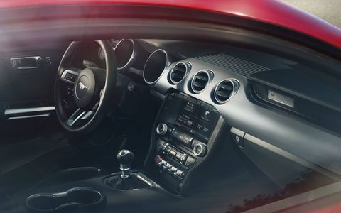 The new Mustang is definitely better suited to please a broader group of people with its new comfort and quality levels.