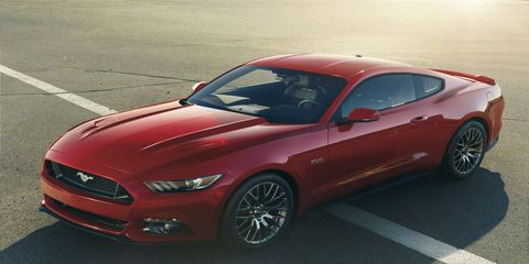 The profile of the new Ford Mustang GT is phenomenal, displaying crisp, clean lines.