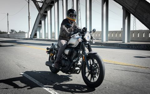 The  Star Bolt C-Spec adds cafe racer touches to the bobber cruiser Bolt and Bolt R-Spec.