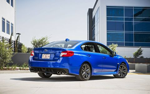 The 2017 Subaru WRX sport compact
