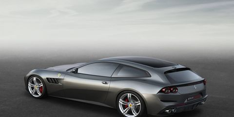 The Ferrari GT4Lusso will debut at the Geneva auto show in March.