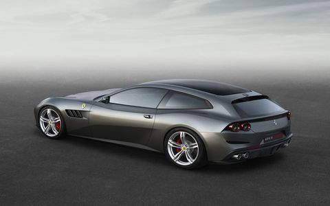 The Ferrari GT4Lusso will debut at the Geneva auto show in March.