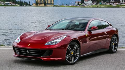 The Ferrari GTC4Lusso is the only modern Ferrari with space for four.