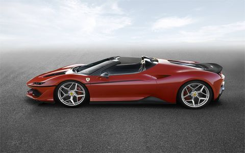 There will only be 10 special-edition Ferrari J50s produced.