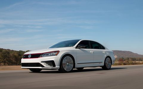 Volkswagen took cues from the popular VW GTI in order to build its latest concept -- the Passat GT concept.