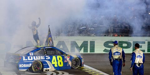 Jimmie Johnson's win at Homestead-Miami Speedway put a nice bow on the 2016 NASCAR Sprint Cup Series season.