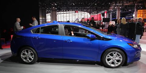 The 2016 Volt goes on sale in the second half of 2015.