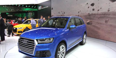 The Audi Q7 leaves room for a larger SUV at the top of Ingolstadt's lineup.