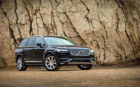 The XC90 T6 has what may be the most technologically advanced 2.0-liter four ever screwed together, with super- and turbocharging combined with direct injection making 316 hp and 295 lb ft of torque, all moving what amounts to a very large living space down the road with great alacrity. Skol!