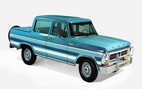 the f1000 used diesel engines cargo space was not a priority