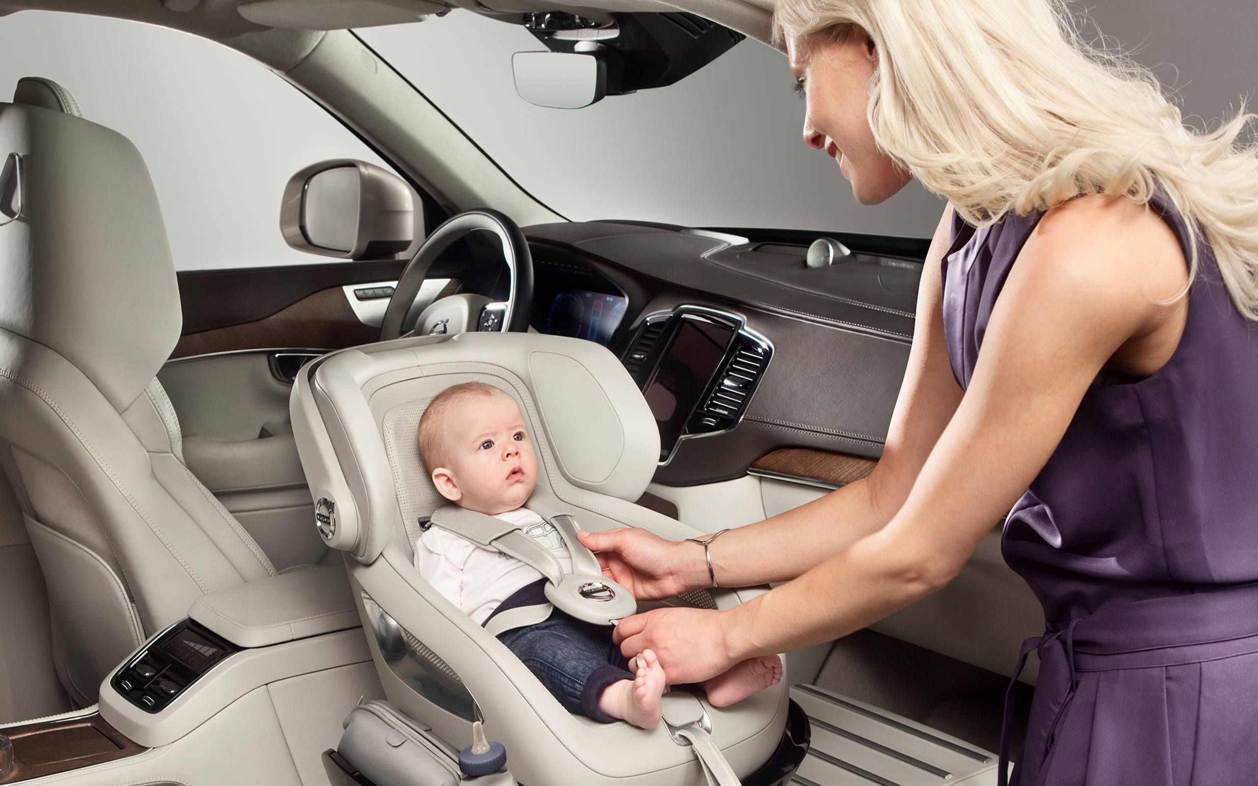 Think your car is baby-friendly? This Volvo XC90 has it beat