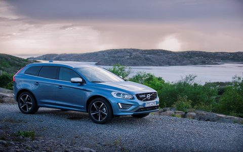 The 2017 Volvo XC60 crossover