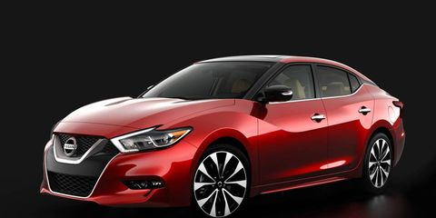 The 2016 Nissan Maxima, which goes on sale later this year, will closely track the design of the 2014 concept car.
