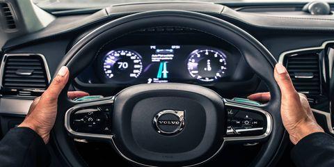 IntelliSafe Auto Pilot interface for Drive Me