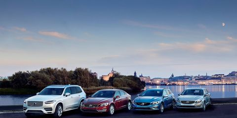 Volvo will steadily release new plug-in hybrids until the entire lineup is electrified in 2019. Also, Volvo will produce a pure electric vehicle in the same time frame.