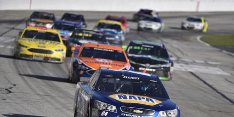 NASCAR races will be split into three segments this season.