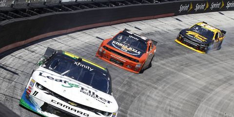 Fans on social media were vocal about their opinion that NASCAR's new Xfinity heats were boring.