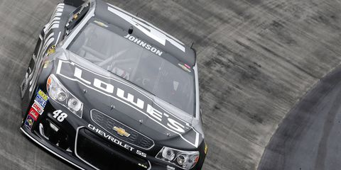 Jimmie Johnson says speed strips will add a new level of strategy on Saturday night at Bristol Motor Speedway.