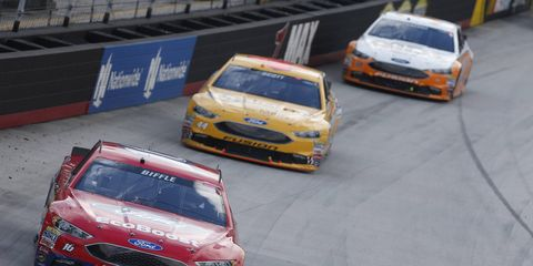 Greg Biffle needs a win at Michigan to keep any hopes of competing for a championship alive.