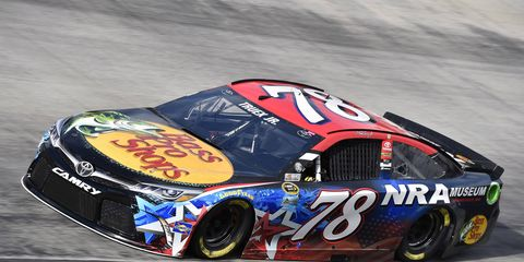 Martin Truex Jr. is happy with the rapid improvement of Furniture Row Racing.