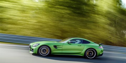 The latest addition to the AMG GT family is a 577 hp road-ready track weapon.