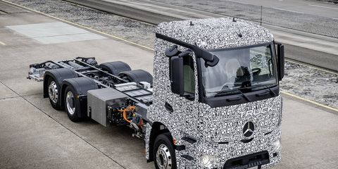 Mercedes has commercial trucks in mind, not pickups. But pickups are coming as well.