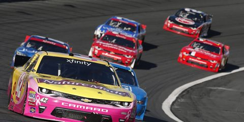 Kyle Larson and Kyle Busch were caught swerving excessively to adjust the rear suspension on their cars during the Bank of America 500 at Charlotte Motor Speedway and were penalized.