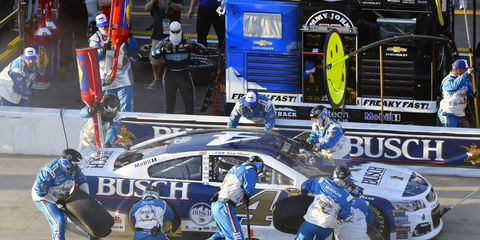 Kevin Harvick's pit crew will undergo changes this week.