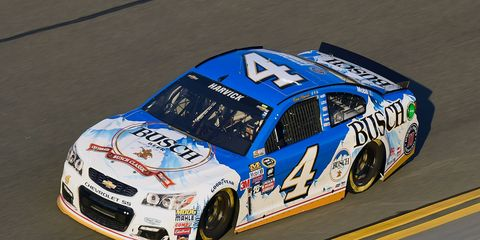 Kevin Harvick and the Stewart-Haas Racing stable will be trading in its Chevrolet Bow Tie for the Blue Oval of Ford Performance in 2017.