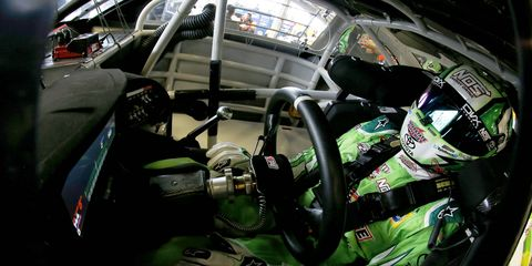 Kyle Busch cut a tire and wrecked his car on Friday during practice. That was just the start of the bad luck for Joe Gibbs Racing.
