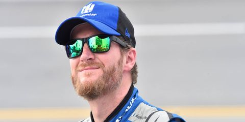 Dale Earnhardt Jr. reported marked improvement in his health via Twitter on Friday.