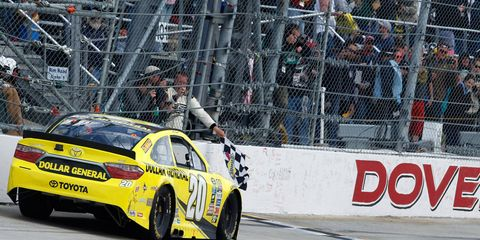 Matt Kenseth took the checkered flag at Dover in May.