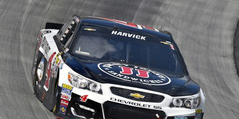 Kevin Harvick will stay with Stewart-Haas Racing.