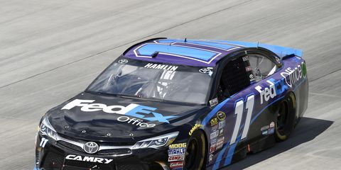 Denny Hamlin will defend his Sprint All-Star title on Saturday at Charlotte.