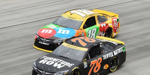 Martin Truex Jr. and Kyle Busch are still alive in the NASCAR Sprint Cup Series Chase heading into Saturday's race at Charlotte Motor Speedway.