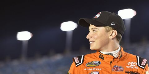 Christopher Bell advanced to the Truck Series championship race in his rookie season and hopes to finish the job in 2017.