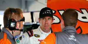 Carl Edwards, 37, announced why he's walking away from NASCAR today. He won 28 races in his career.