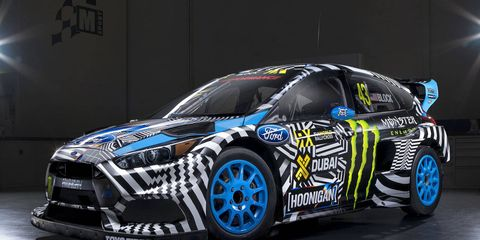 The Ford Focus RS RX was designed to compete in the FIA World Rallycross Championship.