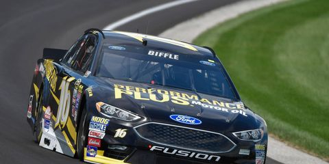 Greg Biffle is seeking his first win in the NASCAR Sprint Cup Series since 2013.