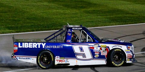 William Byron won his first major NASCAR race on Friday night.