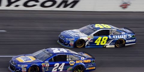 Jimmie Johnson and Chase Elliott are leading the charge for Hendrick Motorsports this year. Both have six top-five finishes. If an HMS driver finishes in the top five at New Hampshire this weekend, the team will capture its 1,000th top-five finish.