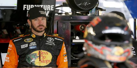 Martin Truex Jr. captured the pole for Sunday's Chase race at Talladega Superspeedway