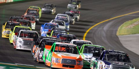 The NASCAR Camping World Truck Series kicks off an extended race weekend at Bristol Motor Speedway on Aug. 17.