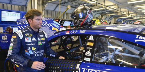 Dale Earnhardt Jr. will sit out this week's NASCAR Sprint Cup race at New Hampshire with concussion-like symptoms.